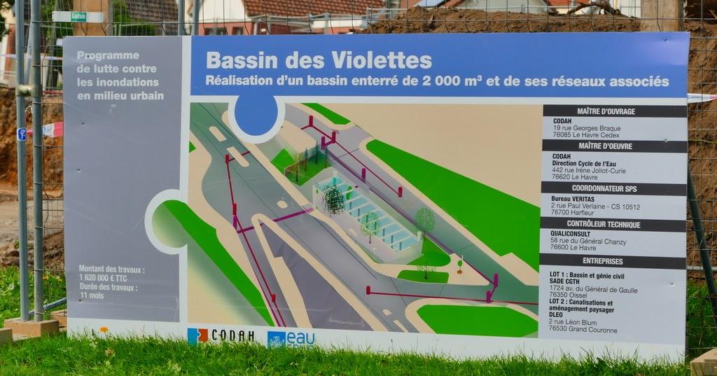 Havre aplemont photo: bassin des violettes