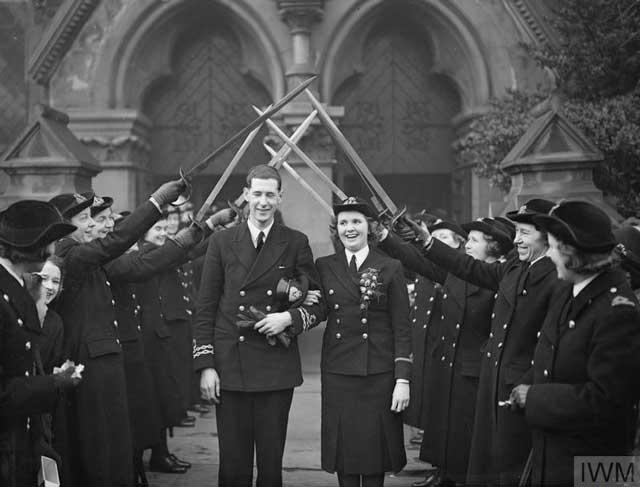 Naval marriage on 10 January 1942 worldwartwo.filminspector.com