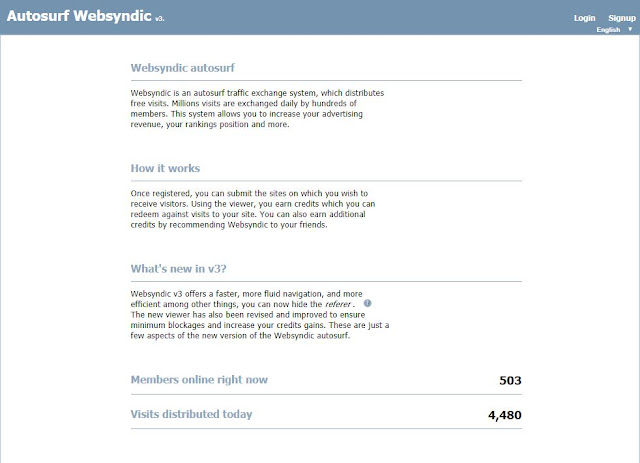 موقع Websyndic Autosurf