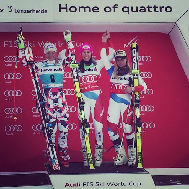 Wendy Holdener Takes Victory in Lenzerheide and the Alpine Combined Globe