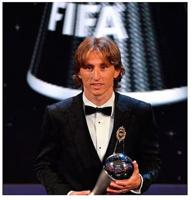 Modric win Ballon d'Or, ends Ronaldo-Messi hold on Ballon d'Or