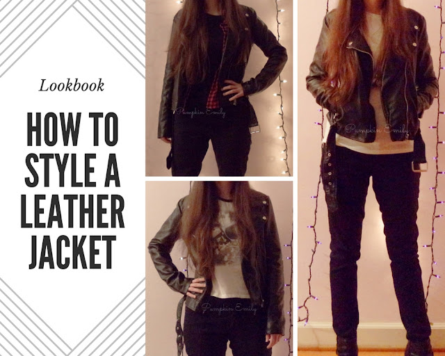 5 Ways to Wear a Leather Jacket | How To Style a Leather Jacket