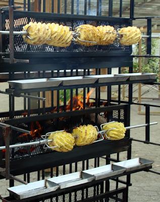 Barbecue traiteur Paris RP - ananas grillé