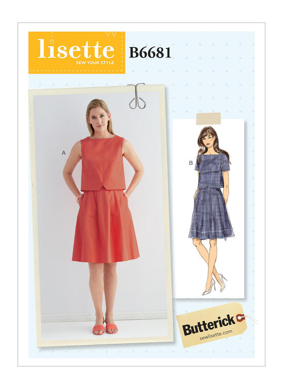Lilacs & Lace: Spring 2019 Patterns from Butterick