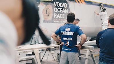 Charlie Enright, Vestas skipper, in Volvo Ocean Race