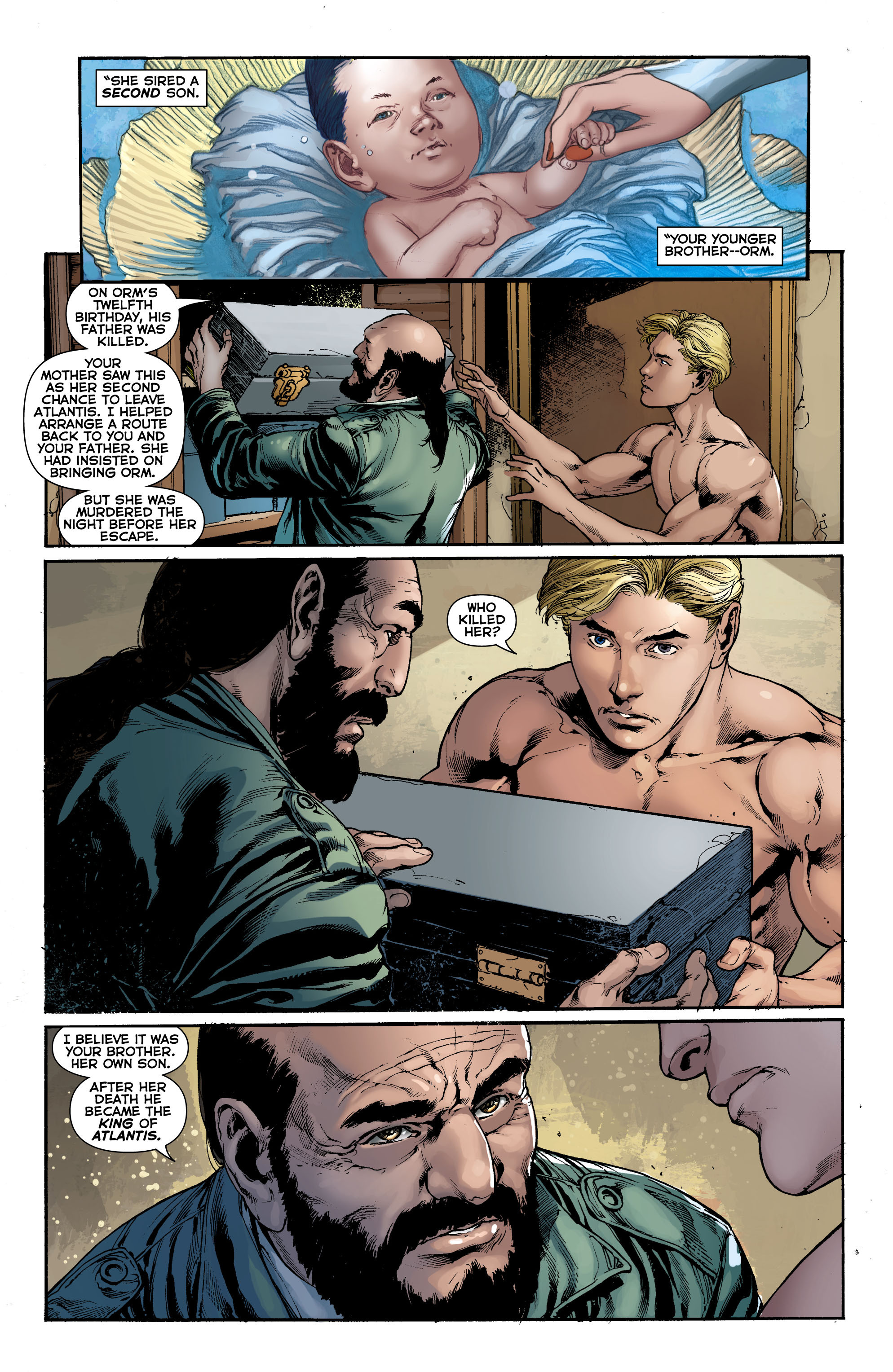 Read online Aquaman (2011) comic -  Issue #0 - 18