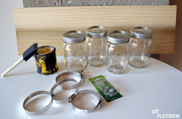 How To Create An Easy Diy Mason Jar Organizer The Diy