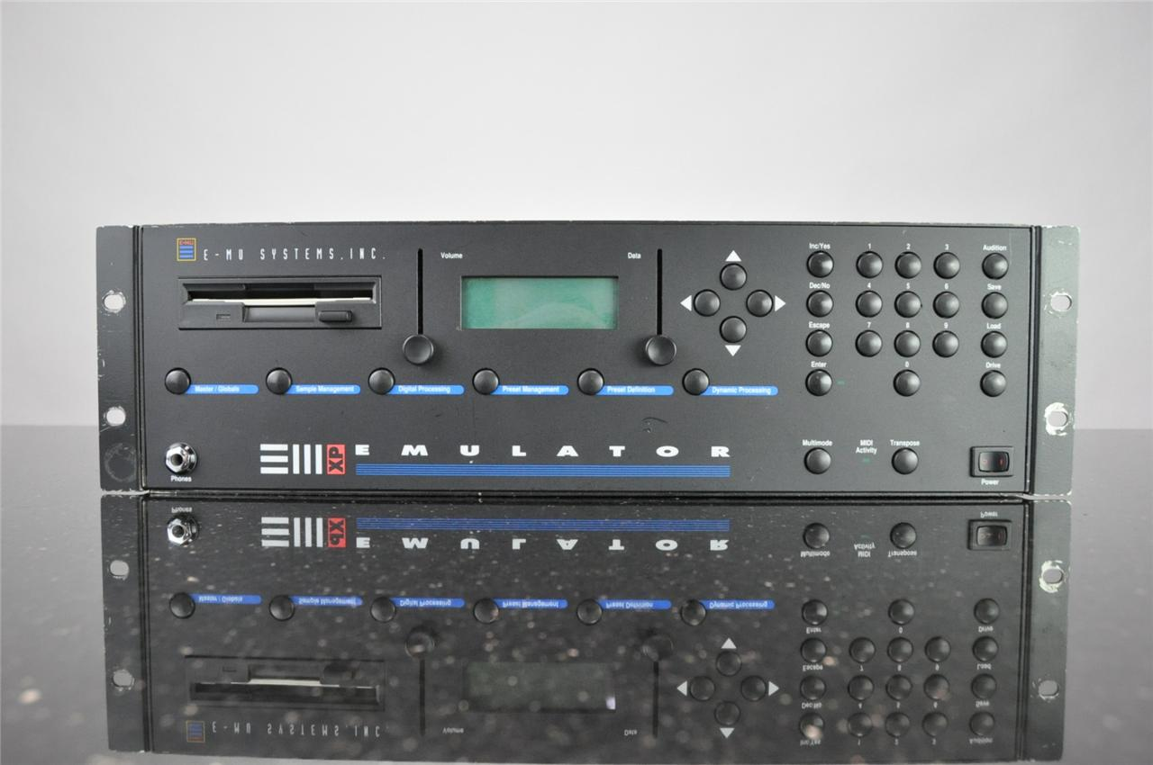 e-mu emulator iii xp rack