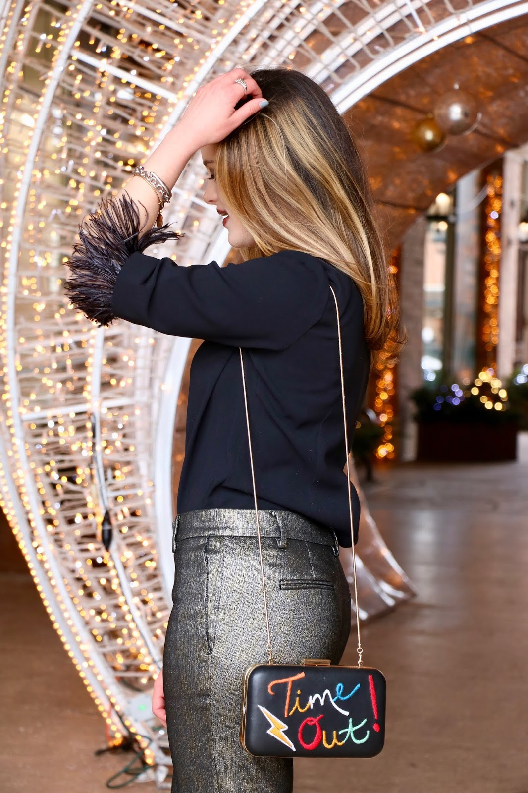 Nyc fashion blogger Kathleen Harper's New Year's Eve fashion