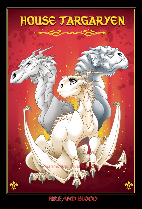 01-House-Targaryen-Mariana-Moreno-Game-of-Thrones-Houses-in-Cartoon-form-www-designstack-co