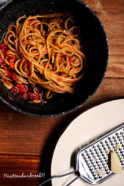 how to make garlic and tomato pasta recipe, go to pasta recipe