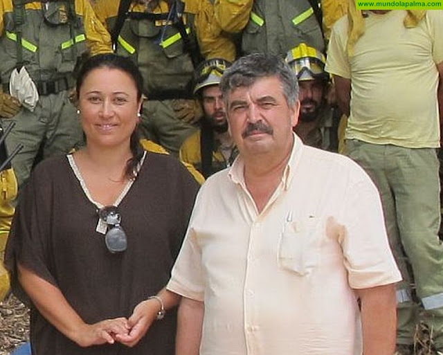 El Cabildo de La Palma mejora la dotación material para la lucha contra incendios