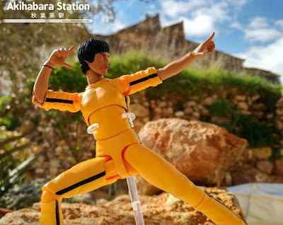 "Review del S.H.Figuarts ""Bruce Lee (yellow track)"" de Tamashii Nations."
