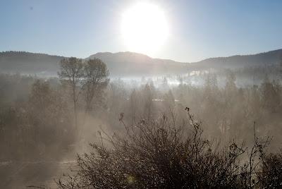 fog yosemite hike story