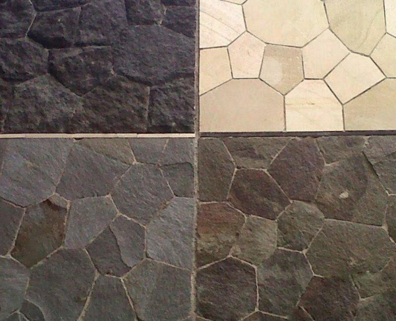keramik motif batu alam untuk dinding tampak unik