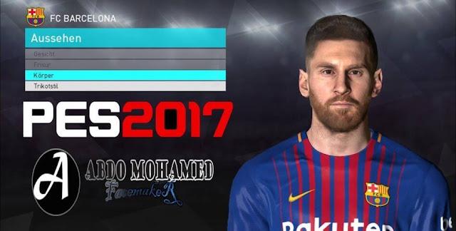 L. Messi New Face PES 2017