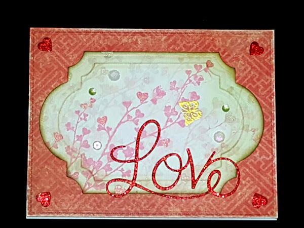 Penny Black: Butterfly Love Card