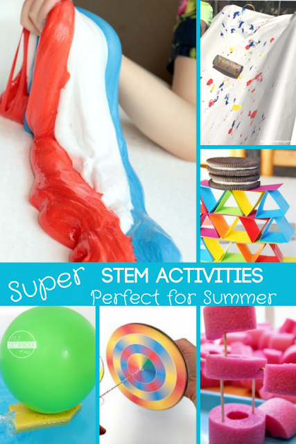 Super-STEM-Summer-Activities