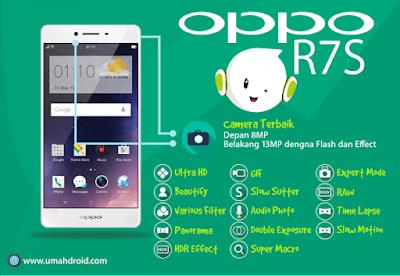 spesifikasi camera dan efek pada OPPO R7S
