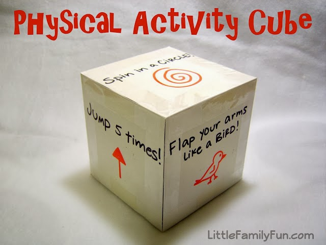 http://www.littlefamilyfun.com/2011/04/physical-activity-cube.html
