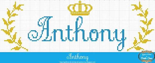Nome Anthony em Ponto Cruz