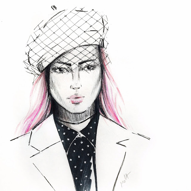 dior beauty sketch