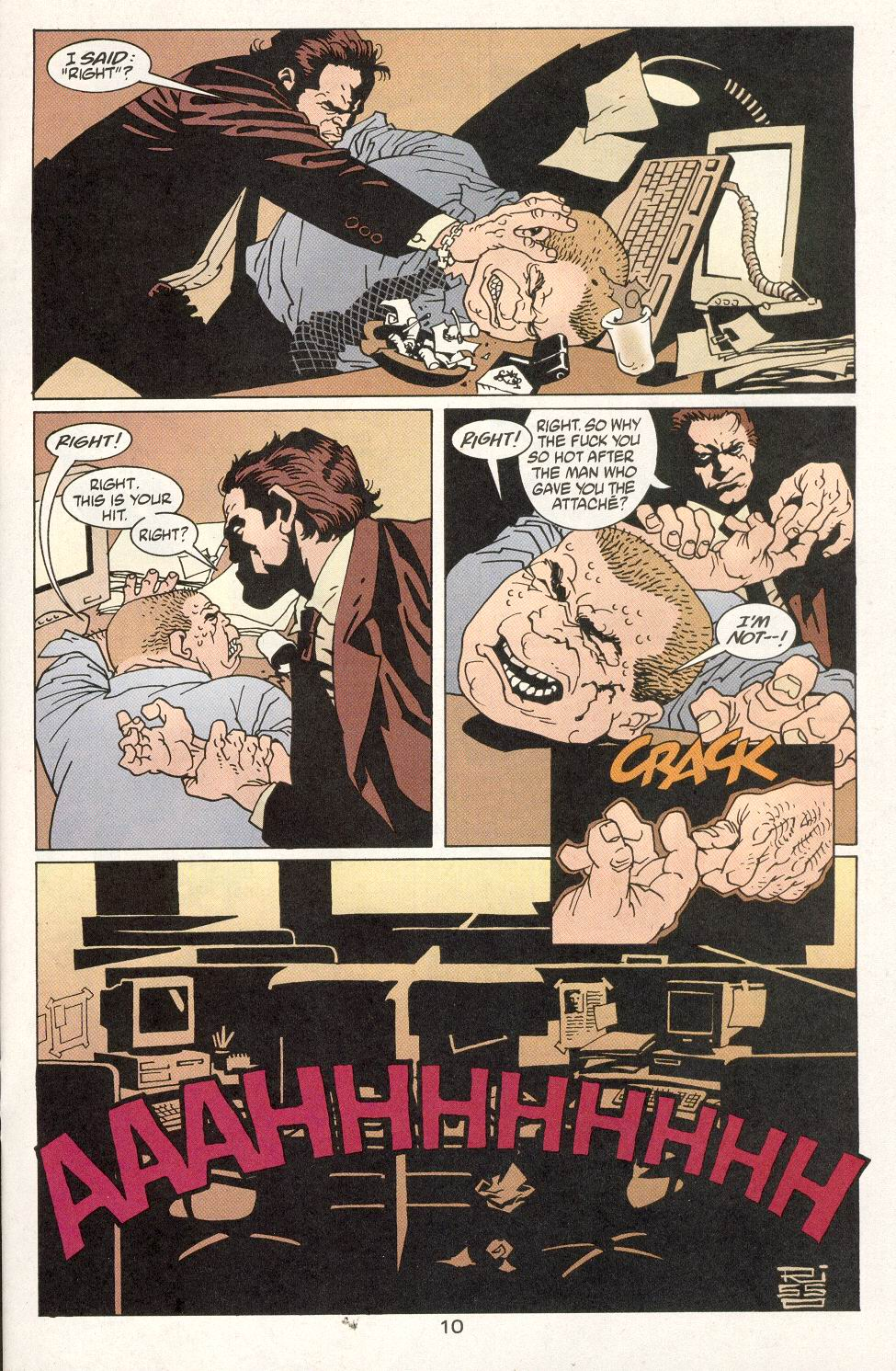 Read online 100 Bullets comic -  Issue #14 - 12