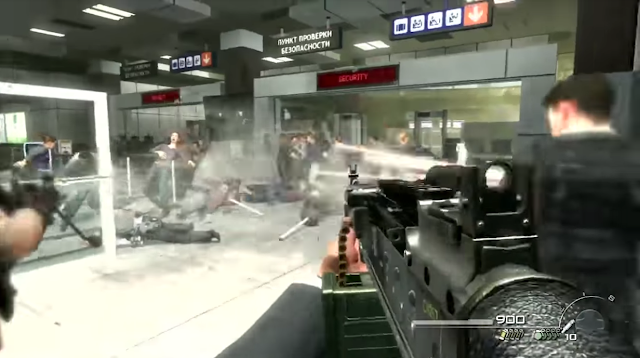 Call of Duty Modern Warfare II No Russian shooting civilians airport