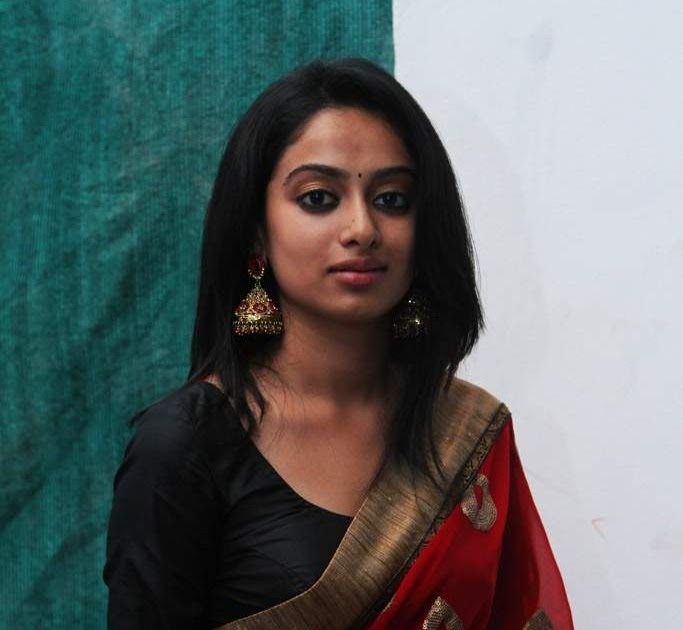 Actress Gauthami Nair Hot Red Saree Photos