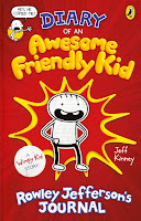 Diary of an Awesome Friendly Kid Written & Illustrated by Jeff Kinney (Age: 8+ years)