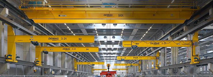 Подъём и перемещение сортамента, деталей, металлических конструкций и других грузов на ЗМК