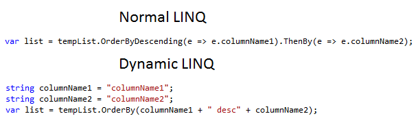 Rudrik Andharia  Net Blog: Introduction to Dynamic LINQ