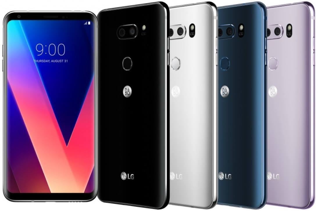 LG V30 Revealed; 6-inch QHD+ Display, Snapdragon 835, Dual Rear Cameras, IP68-Certified