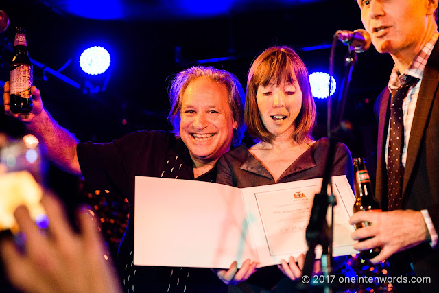 Mary-Margaret McMahon, JC and Josh Matlow at The Horseshoe Tavern 70th Anniversary Party at The Legendary Horseshoe Tavern on December 5, 2017 Photo by John at One In Ten Words oneintenwords.com toronto indie alternative live music blog concert photography pictures photos