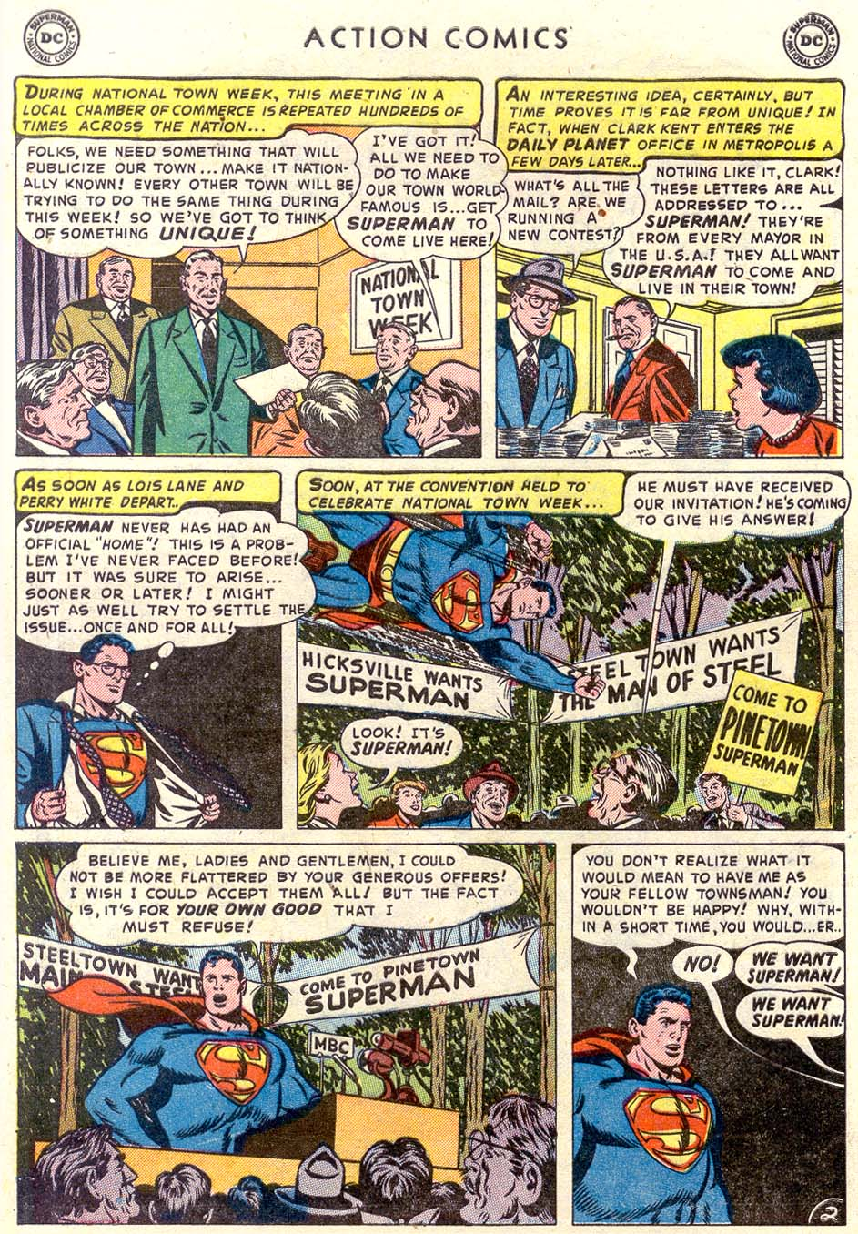 Read online Action Comics (1938) comic -  Issue #179 - 3