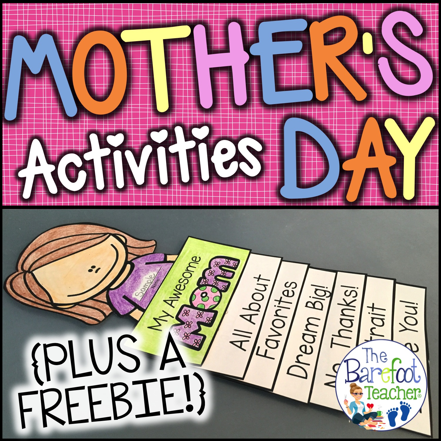 The Barefoot Teacher Mother S Day Activities For Kids
