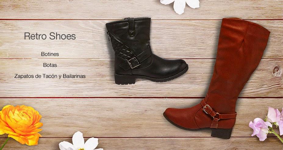 oferta zapatos retro