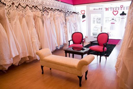 consignment wedding dress shop