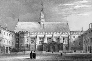 Trinity College, Cambridge  from Memorials of Cambridge by CHCooper (1861)