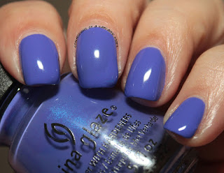 China Glaze Lite Brites I Got A Blue Attitude