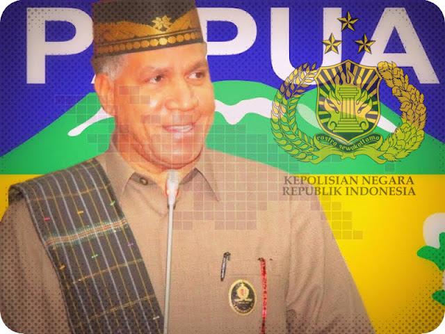 Jadi Calon Gubernur Papua, Paulus Waterpauw Tunggu Restu dari Kapolri