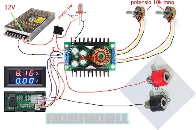 skematik mbr 12 ampere