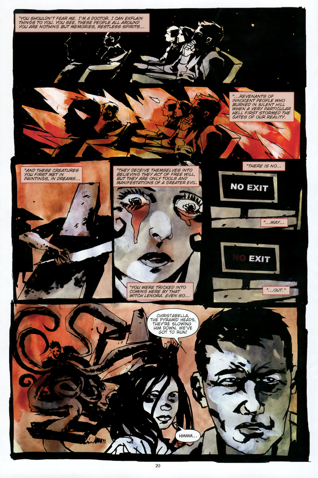 Read online Silent Hill: Dead/Alive comic -  Issue #2 - 22