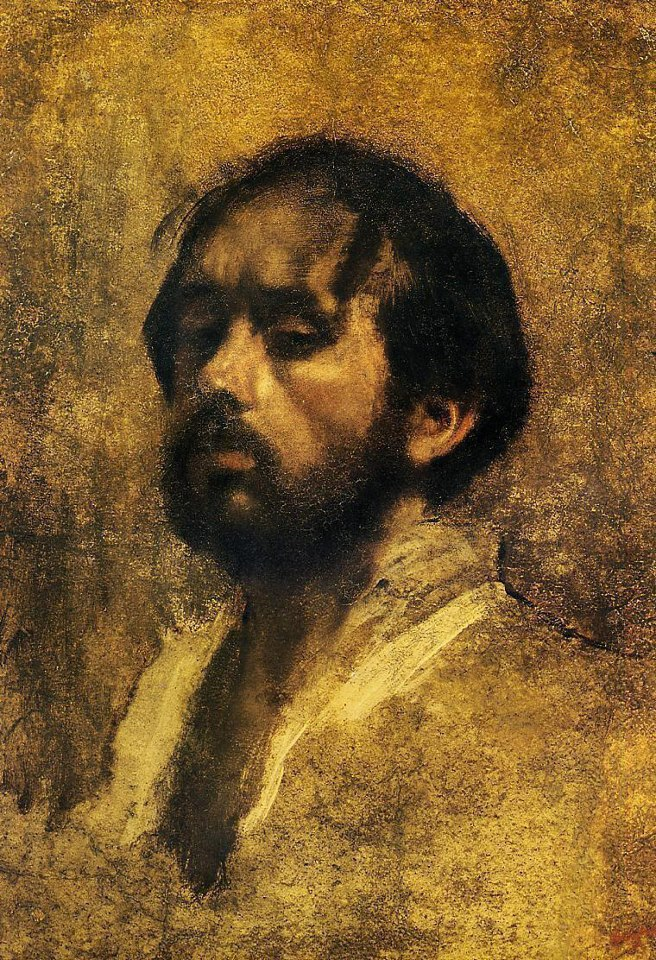 Edgar Degas - Self-Portrait, 1863
