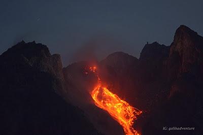 Merapi eruptions