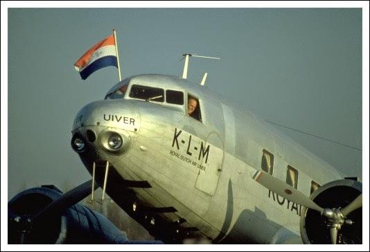 fokker vliegtuig jaren klm