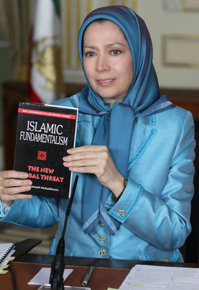April 30, 2015 -Maryam Rajavi to Congress: Regime change in Iran necessary for countering Islamic fundamentalism