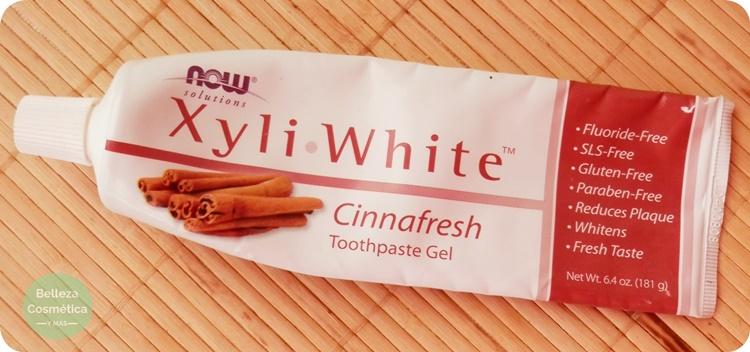 Pasta de dientes Xyli-White de Canela