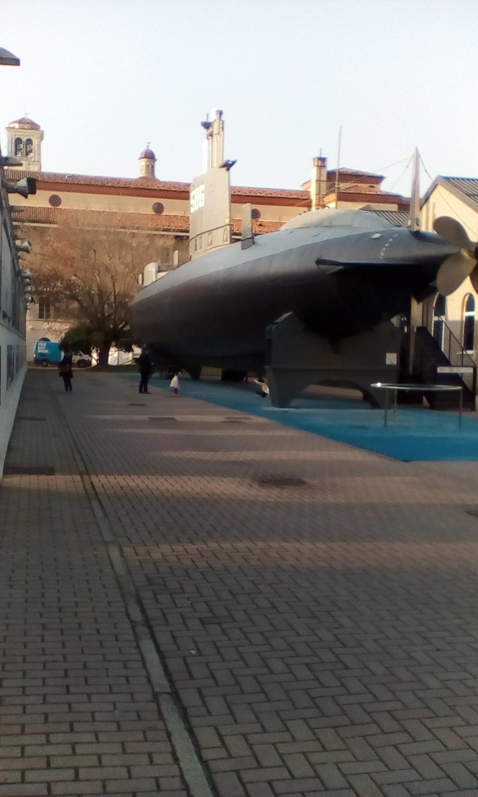 Μιλάνο μουσείο τεχνολογίας