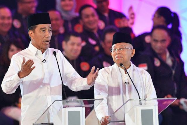 Ini Kata Ma'ruf Amin soal Banyak Diam di Debat Perdana